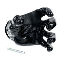 Guitar Grip Black Metallic Male Hand left