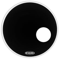 "Evans 24"" Onyx Resonant Bass Drum"