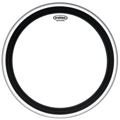"""Evans 24"""" GMAD Clear Bass Drum"""