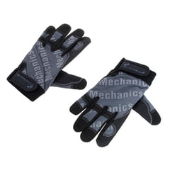 Stairville Mechanic Gloves Grey/Black XL