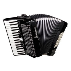 Startone Piano Accordion 72 Black