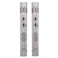 Sontronics STC-1S Matched Pair Silver