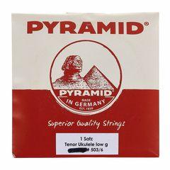 Pyramid Low G Tenor Ukulele Set