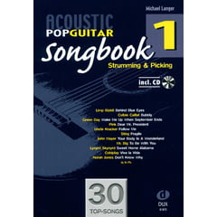 Edition Dux Acoustic Pop Guitar Songbook 1