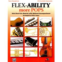 Alfred Music Publishing Flex-Ability More Pops T-Sax