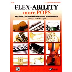 Alfred Music Publishing Flex-Ability More Pops Flute