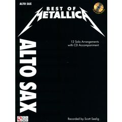 Cherry Lane Music Company Best of Metallica A-Sax