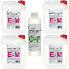 Stairville E-M Fluid Bundle 4x 5l