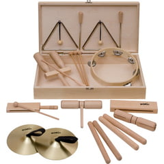 Goldon Percussion Set 5 in Wood Box