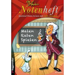 Voggenreiter Little Amadeus Notenheft A4