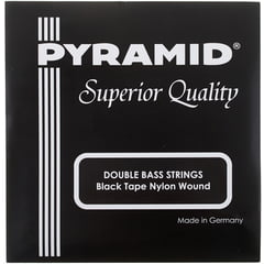 Pyramid Black Tape Nylon Double Bass S