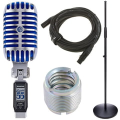 Shure Super 55 Deluxe Bundle
