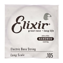 Elixir .105 L El. Bass Single String