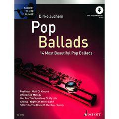 Schott Pop Ballads für Querflöte