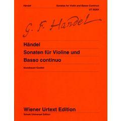 Universal Edition Händel Sonaten Violine
