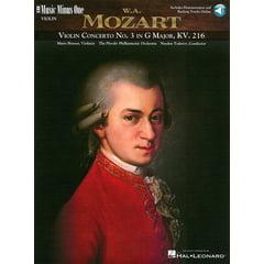Hal Leonard Mozart Violin Concerto No.3
