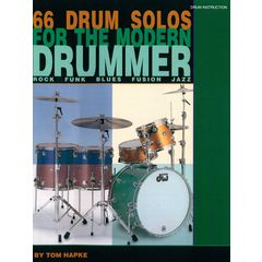 Hal Leonard Hapke 66 Drum Solos +DVD