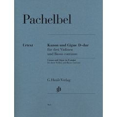 Henle Verlag Pachelbel Canon Gigue D Major
