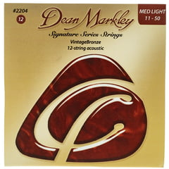 Dean Markley 2204ML12string Bronze Acoustic