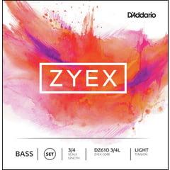 Daddario DZ610-3/4L Zyex Bass 3/4