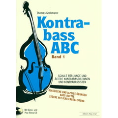Edition Hug Kontrabass ABC 1 Schule