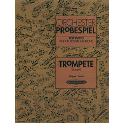 Edition Peters Orchester Probespiel Trompete