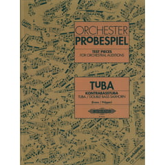 Edition Peters Orchester Probespiel Tuba