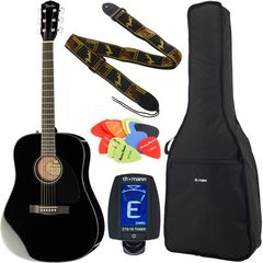Fender CD-60 BK Bundle