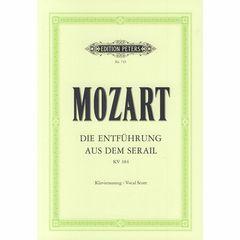 Edition Peters Mozart Entführung Serail KV384