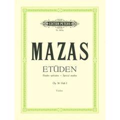 C.F. Peters Mazas Etüden op.36 Heft 1