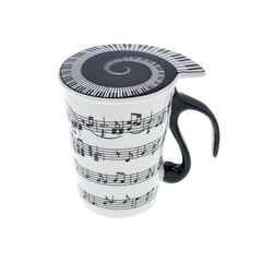 "Musicwear Cup with Lid ""Staff Lines"""