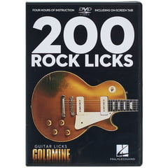 Hal Leonard 200 Rock Licks-Guitar Licks