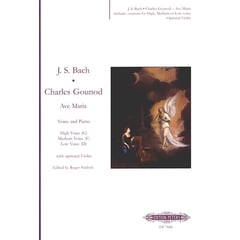 C.F. Peters Bach Gounod Ave Maria Voice