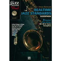 Alfred Music Publishing Realtime Jazz Standards Sax