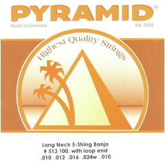 Pyramid Long Neck 5-string Banjo Set