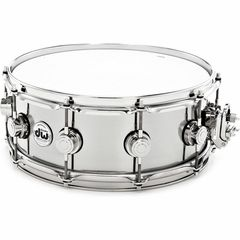"""DW 14""""x5,5"""" Stainless Steel Snare"""