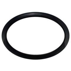 "Bass Drum O's 6"" Black Oval HOBL6"