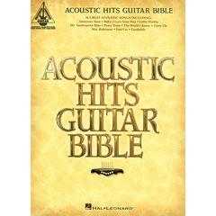 Hal Leonard Acoustic Hits Guitar Bible