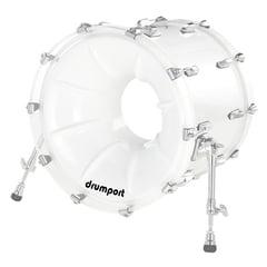 "Drumport 22"" Megaport Booster White"