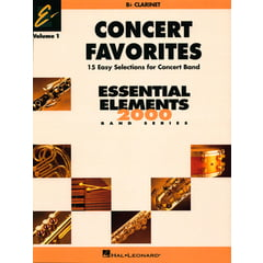 Hal Leonard Concert Favorites 1 Clarinet