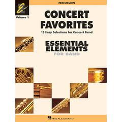Hal Leonard Concert Favorites 1 Drums