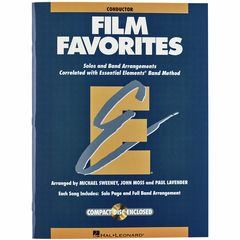 Hal Leonard Film Favorites Score +CD