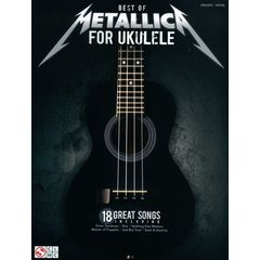 Cherry Lane Music Company Best Of Metallica For Ukulele