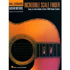 Hal Leonard Incredible Scale Finder