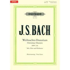 Edition Peters Bach Christmas Oratorio BWV248