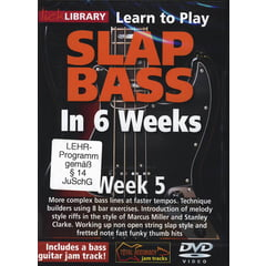 Roadrock International Slap Bass In 6 Weeks - Week 5