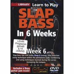 Music Sales Slap Bass In 6 Weeks - Week 6