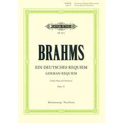 Edition Peters Brahms German Requiem Op.45
