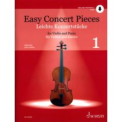 Schott Easy Concert Pieces Violin 1