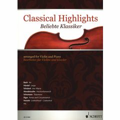 Schott Classical Highlights Violin